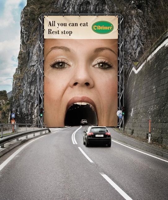 Kampania reklamowa restauracji Oldtimer.